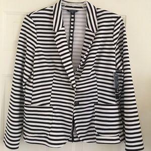 Brand new striped blazer by George